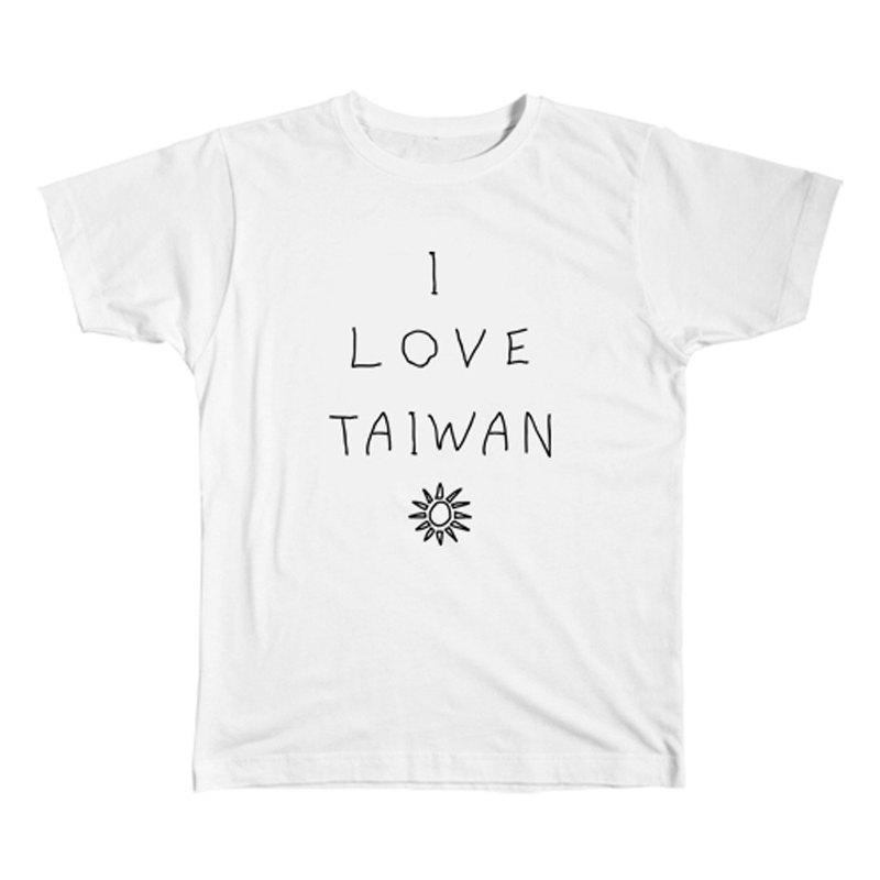 I LOVE TAIWAN T恤