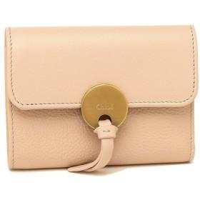 【返品OK】 クロエ 折財布 レディース CHLOE CHC17SP853H8J 6J5 ピンク