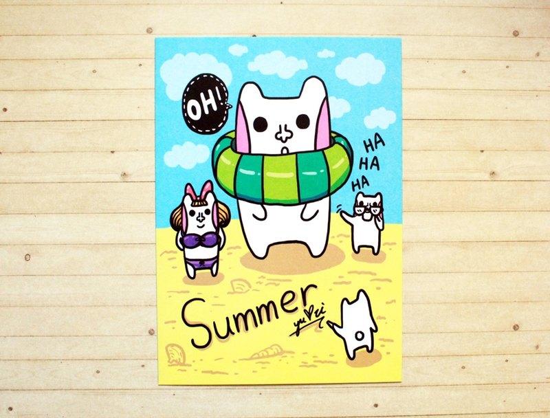 Summer 玩水趣*明信片