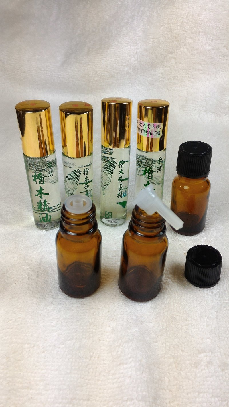 檜木精油10ml滴瓶(紅檜)