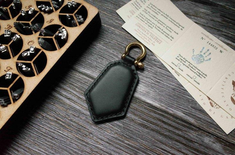 Buttero 悠遊卡晶片吊飾-鑰匙圈款-黑色