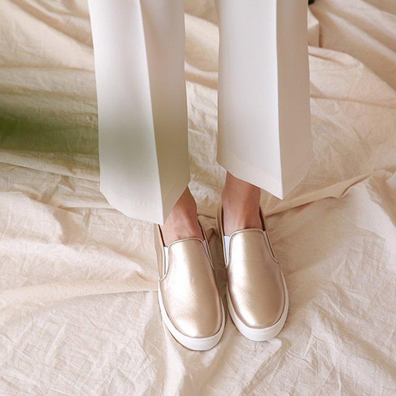 PRE-ORDER-韓國人手製 MACMOC Hygge (GOLD) 休閒鞋