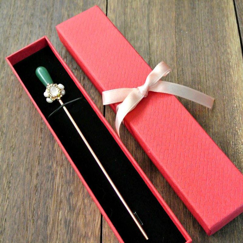 單簪禮盒(紅色典雅款)