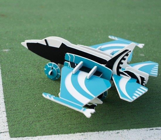 【益智玩具】F-35戰鬥機┇DIY 立體拼圖 交通工具系列 療癒小物