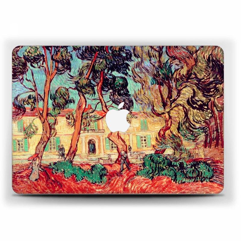 梵高MacBook保護殼MacBook Air保護套MacBook Pro Retina MacBook Pro art 1724