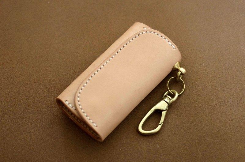 马鞍皮革包装钥匙包