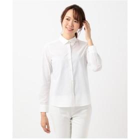 組曲 【リクルート対応/洗える】ストレッチシャーティング シャツ シャツ・ブラウス,ホワイト系1
