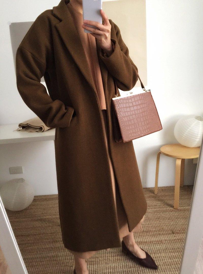 Amman Coat 雙面羊毛長大衣 多色訂做
