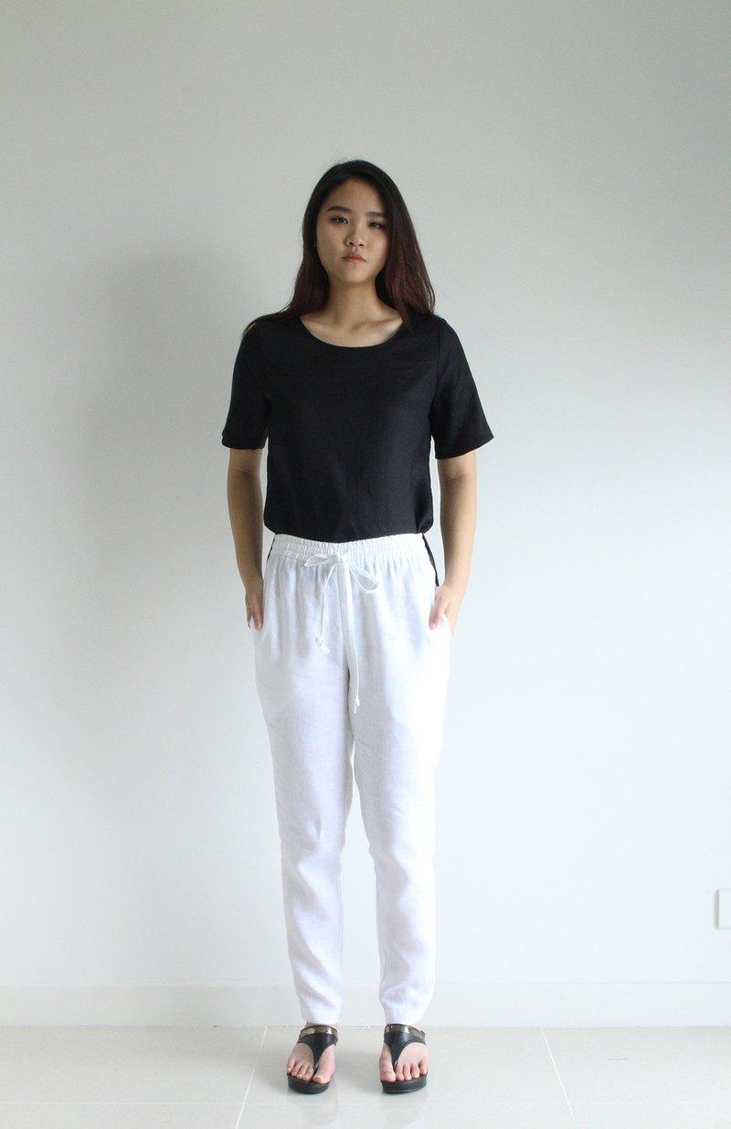 E31P亞麻褲/女亞麻褲/女裝/休閒褲