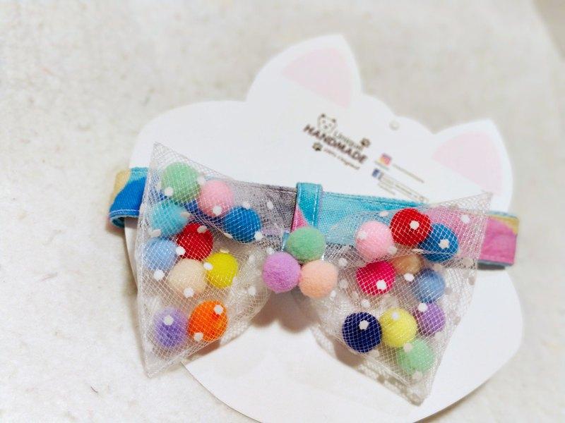 糖果系 sweet candy 煲呔 bow 造型頸飾 頸項 collar
