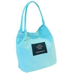 婦人用バッグキャンバスバッグスモールバッグ多機能ショルダースクエアバッグ大容量のハンドバッグ 多機能$ D、スカイブルー
