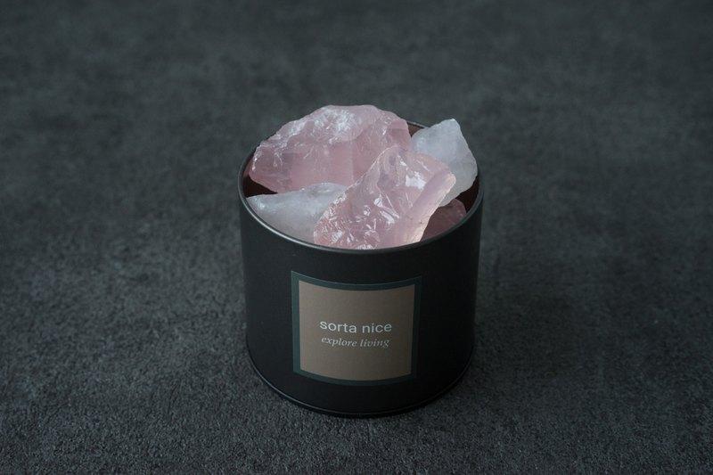 天然擴香 粉水晶  白水晶 礦石香氛系列