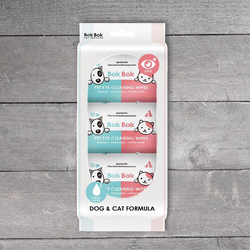 寵物清潔 貓狗 眼部護理濕巾(3入組)