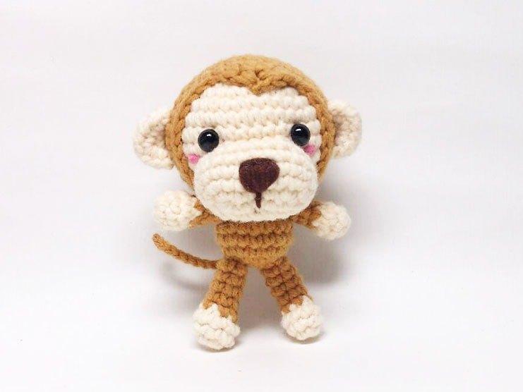 快樂猴-鑰匙圈吊飾-擺件