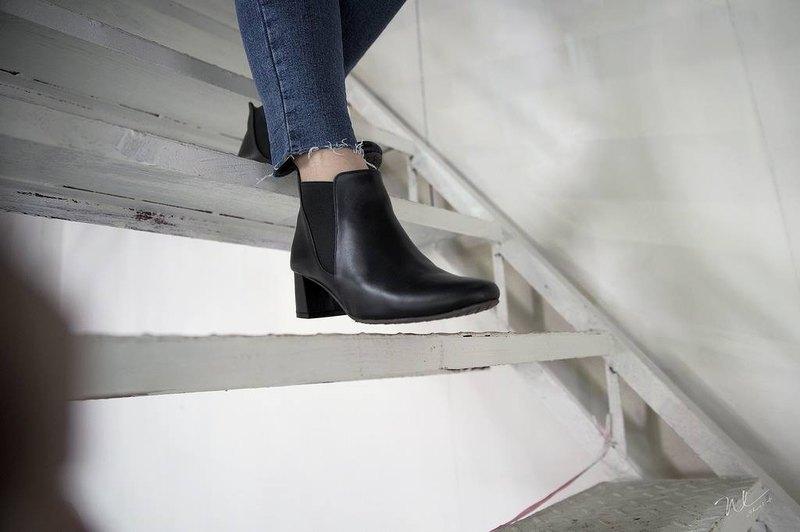 WL Turns Boots 跟靴(Black)原力黑   Pinkoi獨家販售