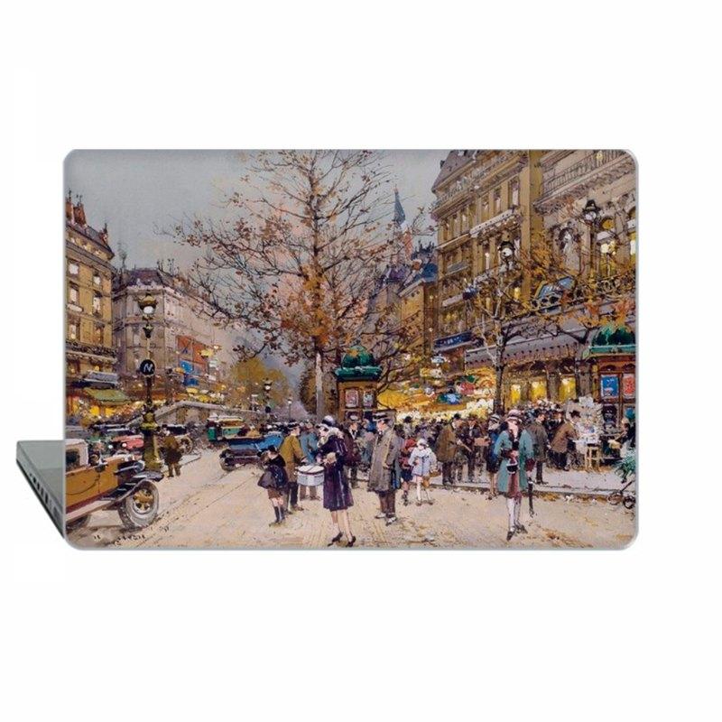 Macbook保護套MacBook Air MacBook Pro Retina MacBook Pro巴黎法國藝術品1721