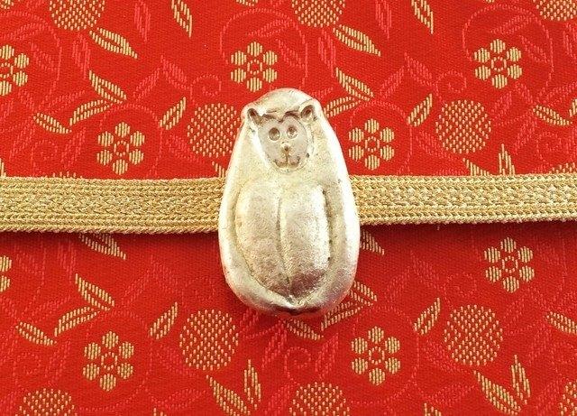 猴子◇黃銅腰帶領帶
