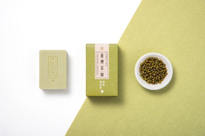 鄉間豆留 _ 緣來。綠豆皂 80 g