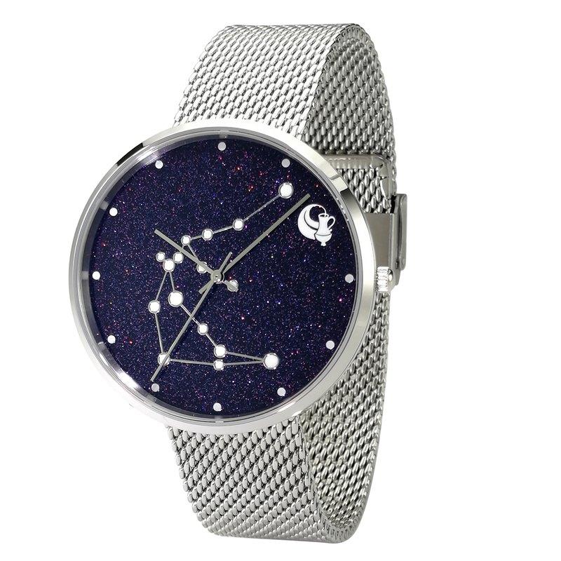 12 星座手錶 (水瓶座) 夜光 全球免運