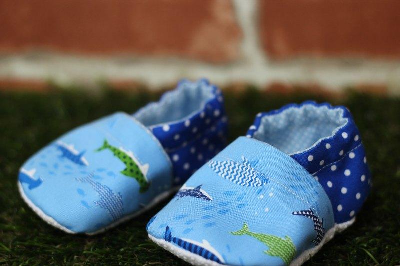 魚兒學步鞋<手工鞋