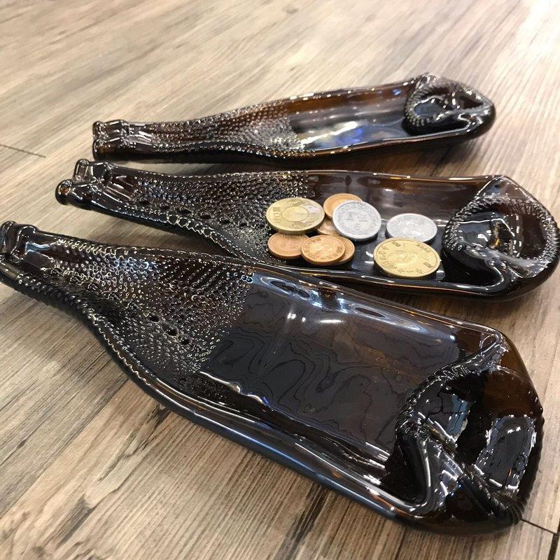 紐西蘭鱷蜥啤酒 皮紋 原酒盛盤