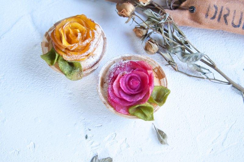 玫瑰蘋果熱蛋糕    下午茶 / 野餐 / 告白 / 求婚 / 情人節 / 婚禮