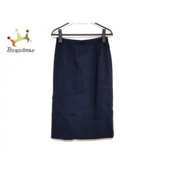 レリアン Leilian スカート サイズ9 M レディース 美品 ネイビー   スペシャル特価 20200113