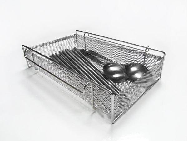 *極高品質*不鏽鋼筷子籃,特殊寬式尺寸設計筷籃,適合平面放置或烘碗機內使用