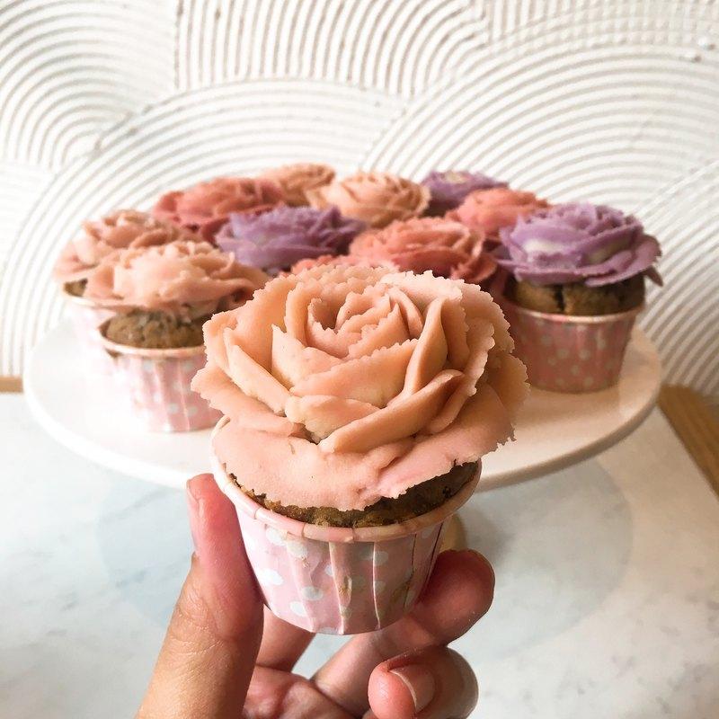 【花漾朋派】客製品-派對 婚禮杯子蛋糕組合(60個)