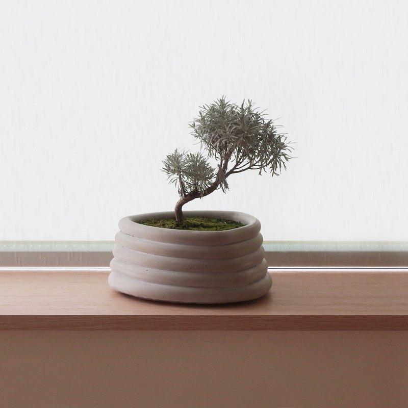 HOMER | 轉子花器 | Rotor Pot | HC16RP | 水泥 | 灰 | 白