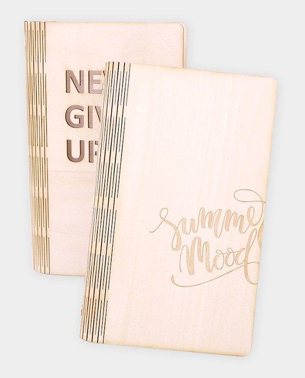 【小盒子】木質筆記本 /雷雕/禮物/企業贈品/畢業禮物/新鮮人禮物