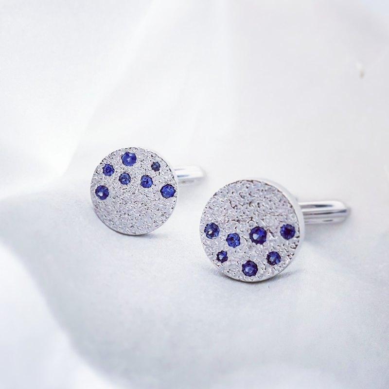 藍寶石鑲嵌襯衫鈕扣