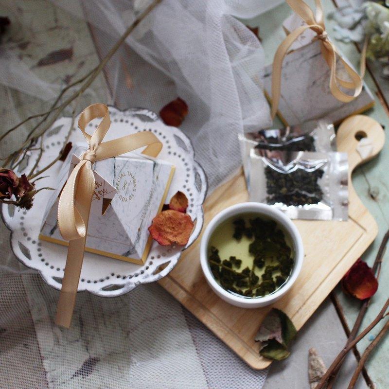 【蕾安柏】茶香春四季│四季春茶葉│婚禮小物│企業贈品│謝禮