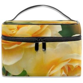 旅行化粧品袋少女と庭の動物大容量化粧品袋収納袋ウォッシュバッグ防水屋外旅行ポータブル