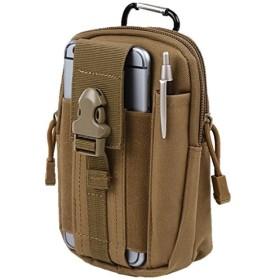 [ノーフ] Norph コンパクトベルトポーチ カラビナ付きでリュックやバッグに取り付け可能モデル ( iphone6 plus 以下のサイズに対応) (ベージュ)