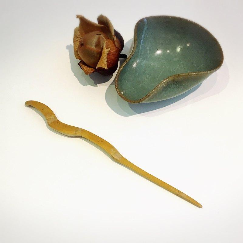 手工竹製茶針02