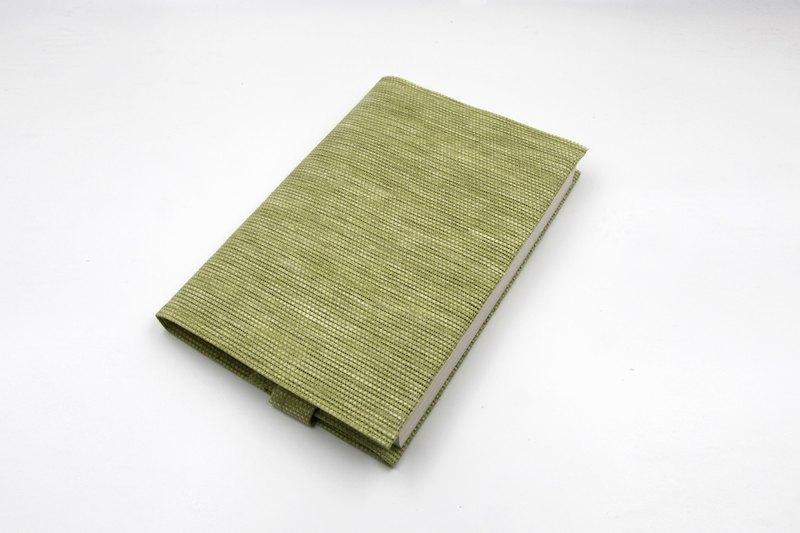【紙布家】書套、書衣、手帳套、筆記本套 (A5/G16K) 草綠