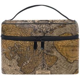 化粧ポーチ 機能的 大容量 オシャレ 祝い プレゼント ギフト旧世界地図