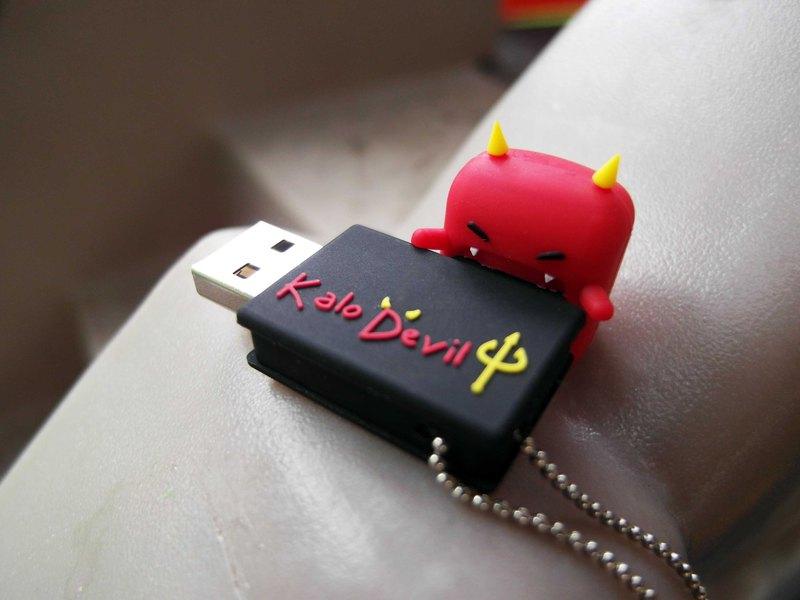 KALO 卡樂創意 小惡魔隨身碟 16G USB 耶誕禮物 聖誕 萬聖節 生日