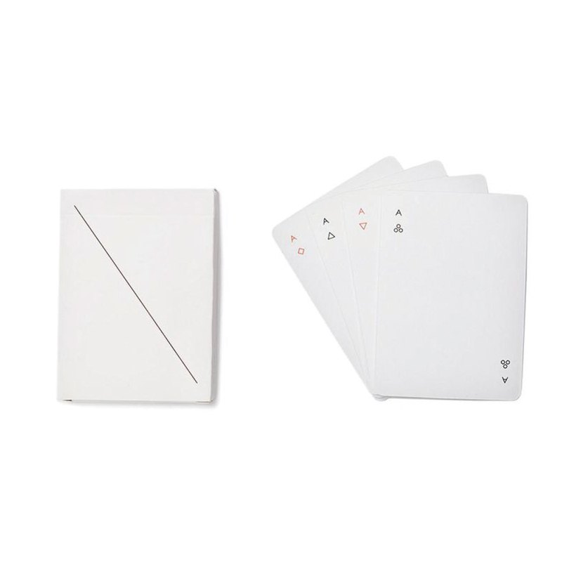 Minim極簡主義撲克牌 - 純淨白 台灣製造 MIT