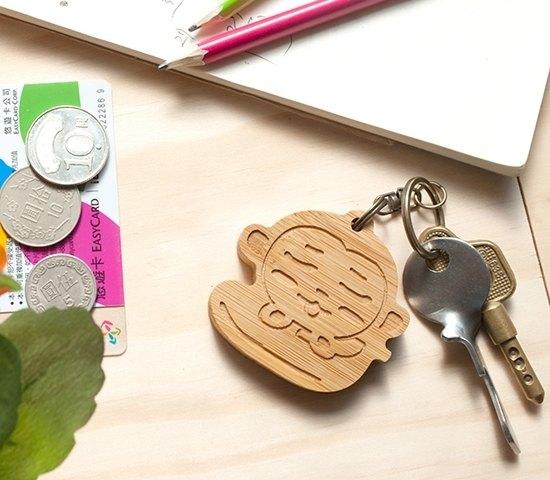 【客製化禮物】可愛動物系列 / 懶懶猴鑰匙圈 生日聖誕情人 禮物