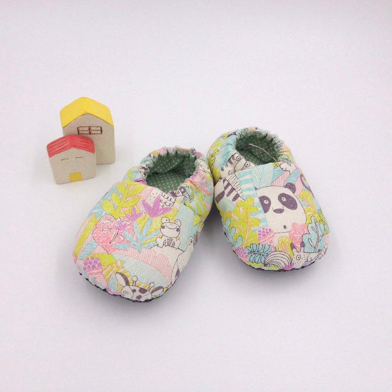 熱帶雨林粉底-學步鞋/寶寶鞋/嬰兒鞋