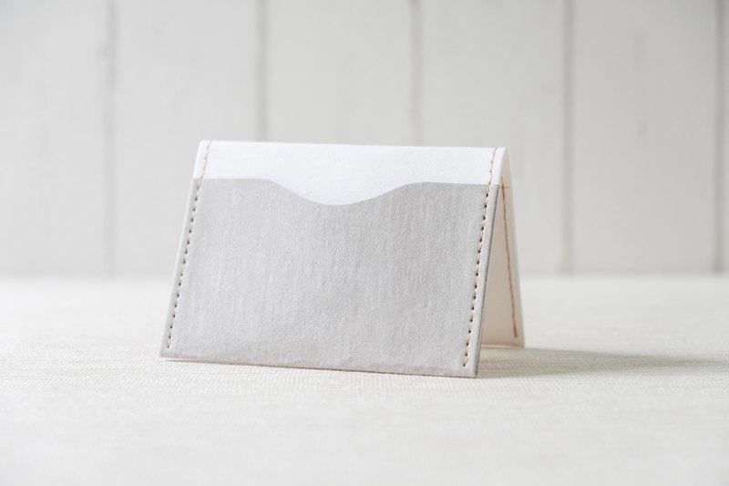 【紙造可能】  minimal 素色系列 簡約名片夾