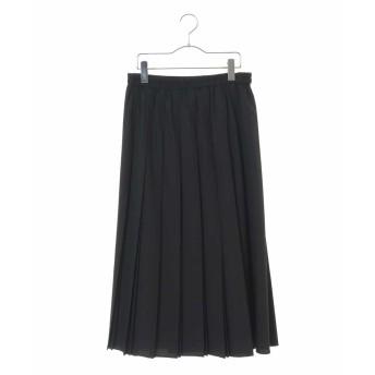 HIROKO BIS GRANDE 【洗える】2WAYマットタフタスカート その他 スカート,ブラック