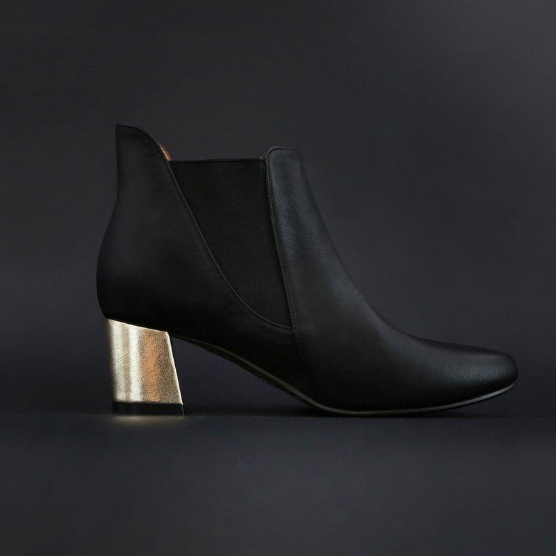 WL Turns Boots 跟靴(Glod)香檳金 | Pinkoi獨家販售