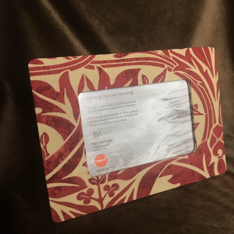 Morris & Co. 風鈴草印花布 頂級工藝相框 4 x 6 (10 x 15 cm)