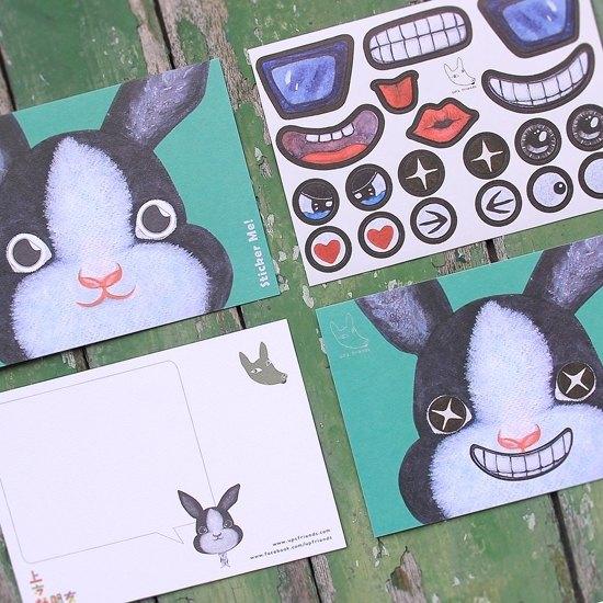 Sticker Me! 樂貼好朋友!_兔子