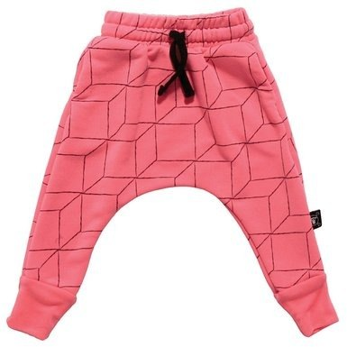 2014秋冬 NUNUNU 網格紋飛鼠褲/GRID baggy pants
