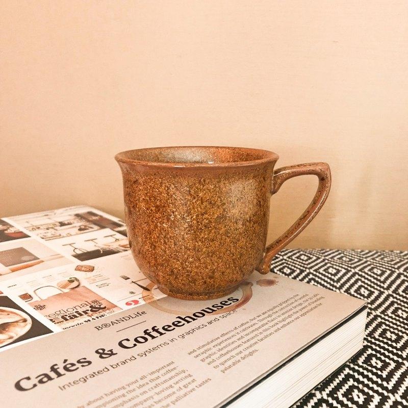 金絲楠木釉咖啡杯