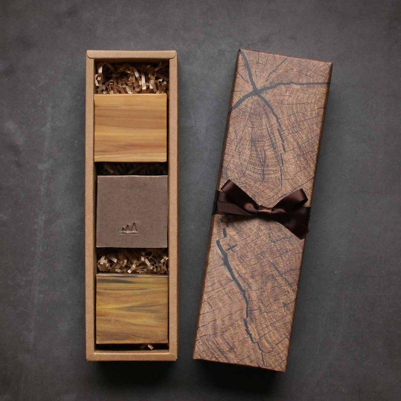森林木手工皂禮盒限量福袋 1 組 3入